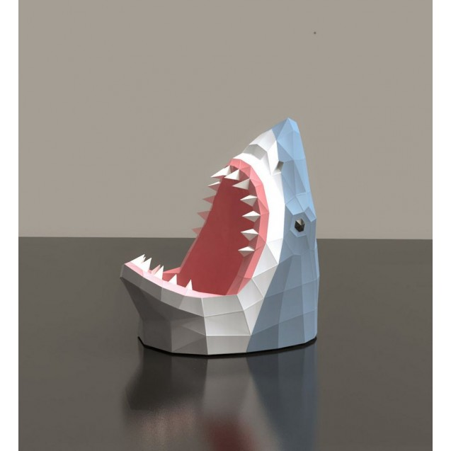 Паперкрафт-модель Акула