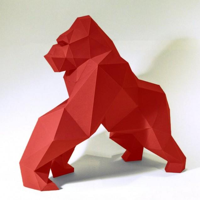 Паперкрафт-модель Горилла